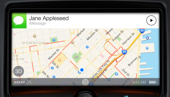 ios in the car launch date