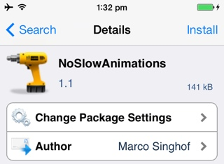 ios 7 tweaks animations