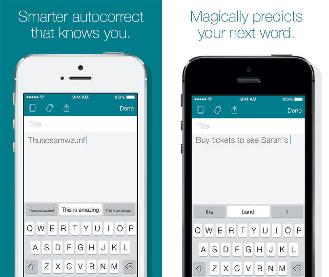 swiftkey note ios 7