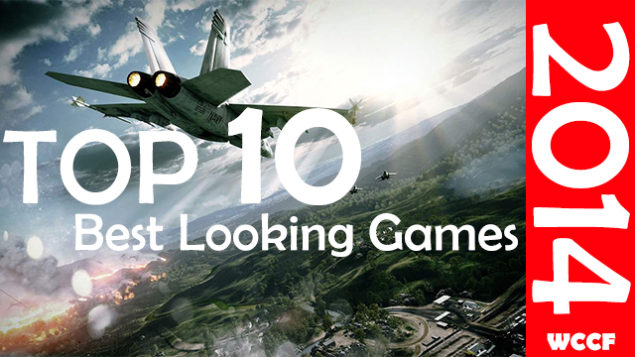 top 10 best graphics games 2014 page title
