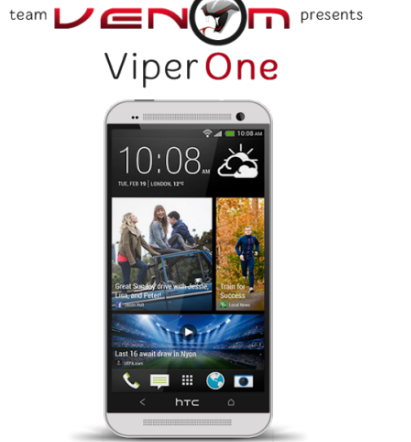 Guide to install ViperOne Android 4 4 KitKat for HTC One - Custom ROM