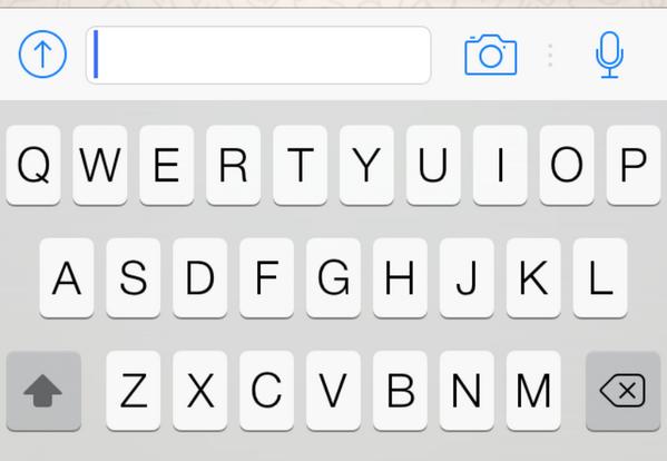 update WhatsApp iOS 7