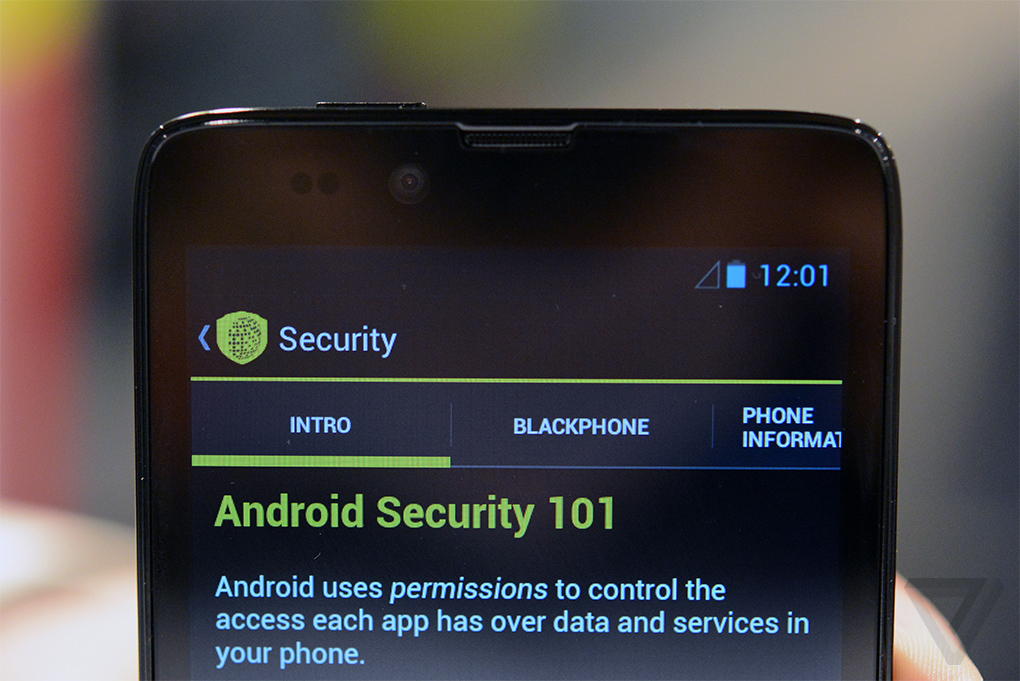 android Blackphone privacy