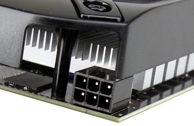 GTX 750 GPU Power Connector 1x6 Pin