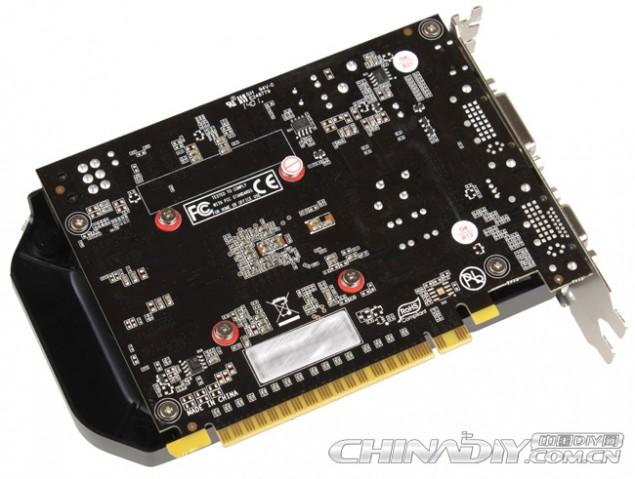 GTX 750 PCB Back
