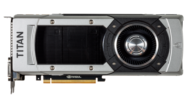 GeForce GTX Titan Black Front