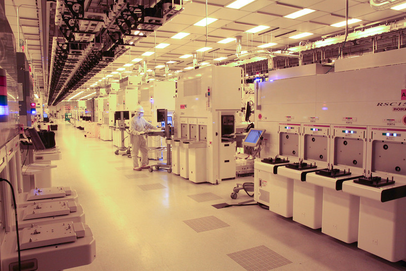 IBM manufacturing facility