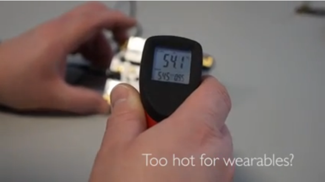 Intel Quark too Hot for wearables