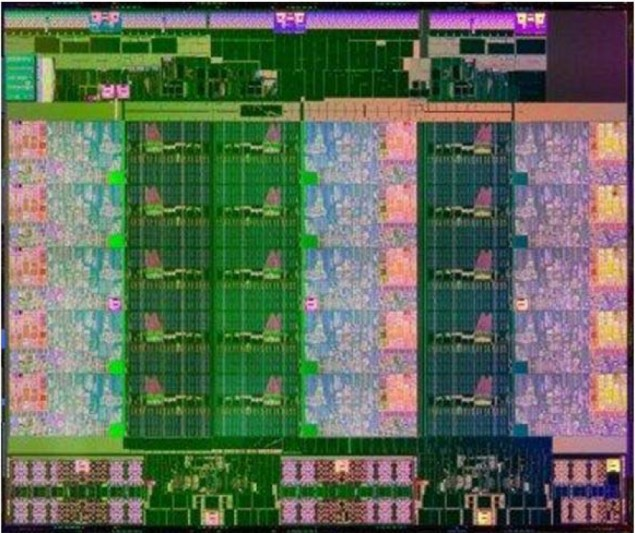Intel Xeon E7 IvyTown Die
