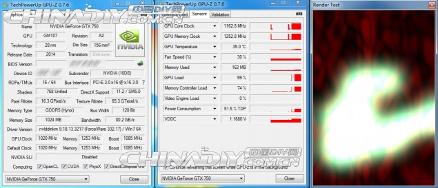 Maxwell GTX 750 Specifications