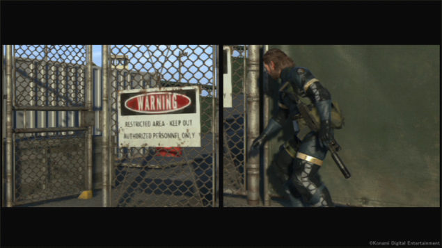 Metal Gear Solid Comparison 1....