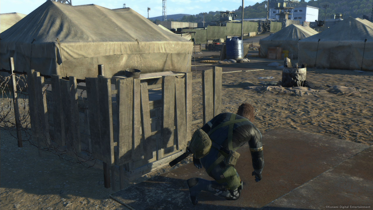 Metal Gear Solid V: Ground Zeroes Screenshot Comparison