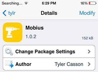 Mobius iOS 7