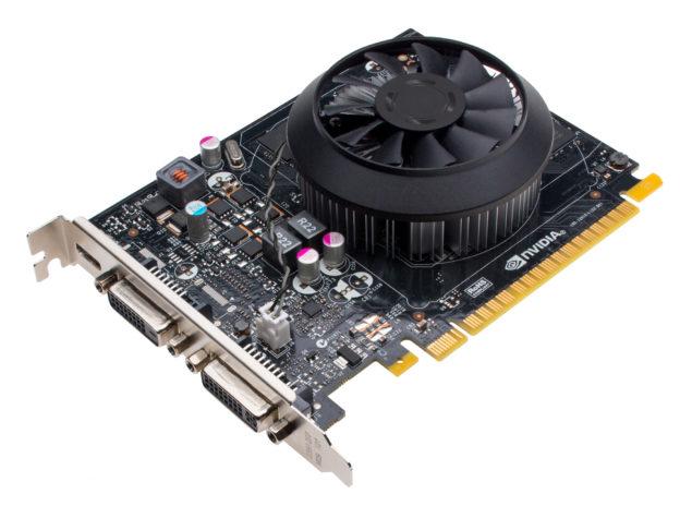 NVIDIA GeForce GTX 750 Ti Front