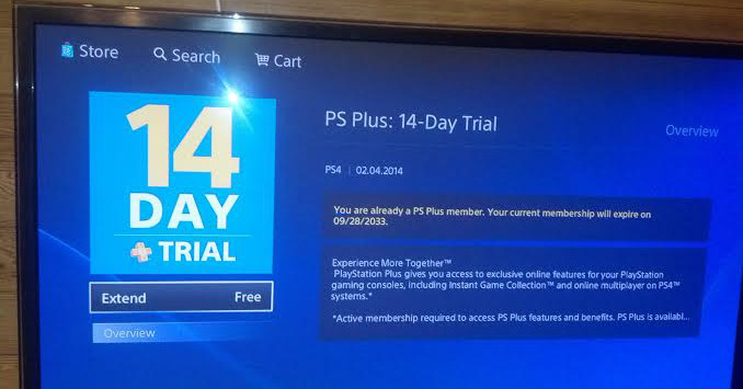 Ps Plus Glitch Allows Ps4 User To Extend Free Playstation Plus 14 Day Trial To 21 Year
