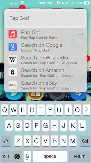 weasel iOS 7 app