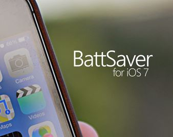 battsaver ios 7