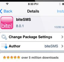 BiteSMS iOS 7