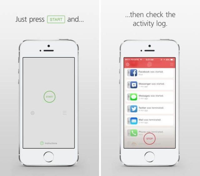 catchr ios privacy app