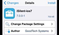 iOS 7 sleep mode jailbreak tweak