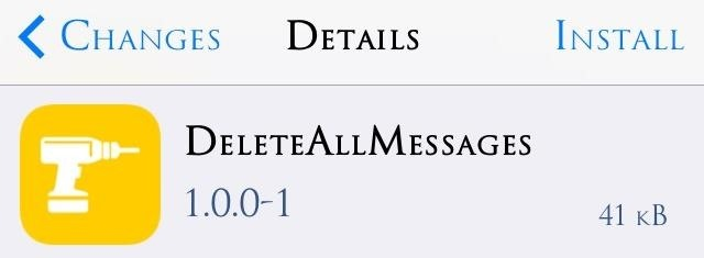 DeleteAllMessages iOS 7: Delete ALL Messages in iPhone at Once!