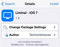 Liminal iOS 7 Theme