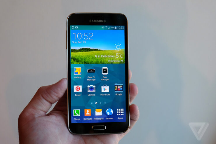 galaxy s5 launched