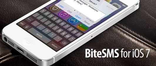 BiteSMS iOS 7 JB Tweak
