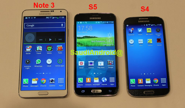 Galaxy S5 leaked images