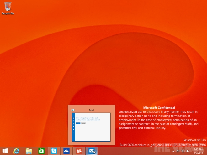 leaked Windows 8.1 Update 1