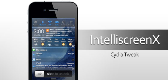 IntelliScreenX iOS 7 Lock Screen Beta Releasing with 5s