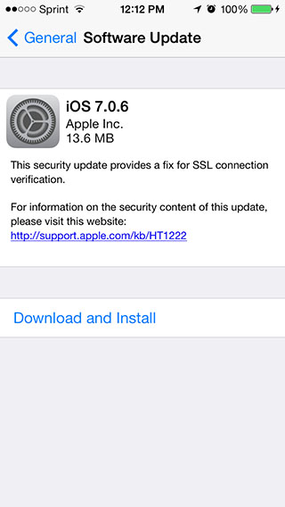 iOS 7.0.6 direct download links