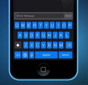 blueboard iOS 7 Keyboard