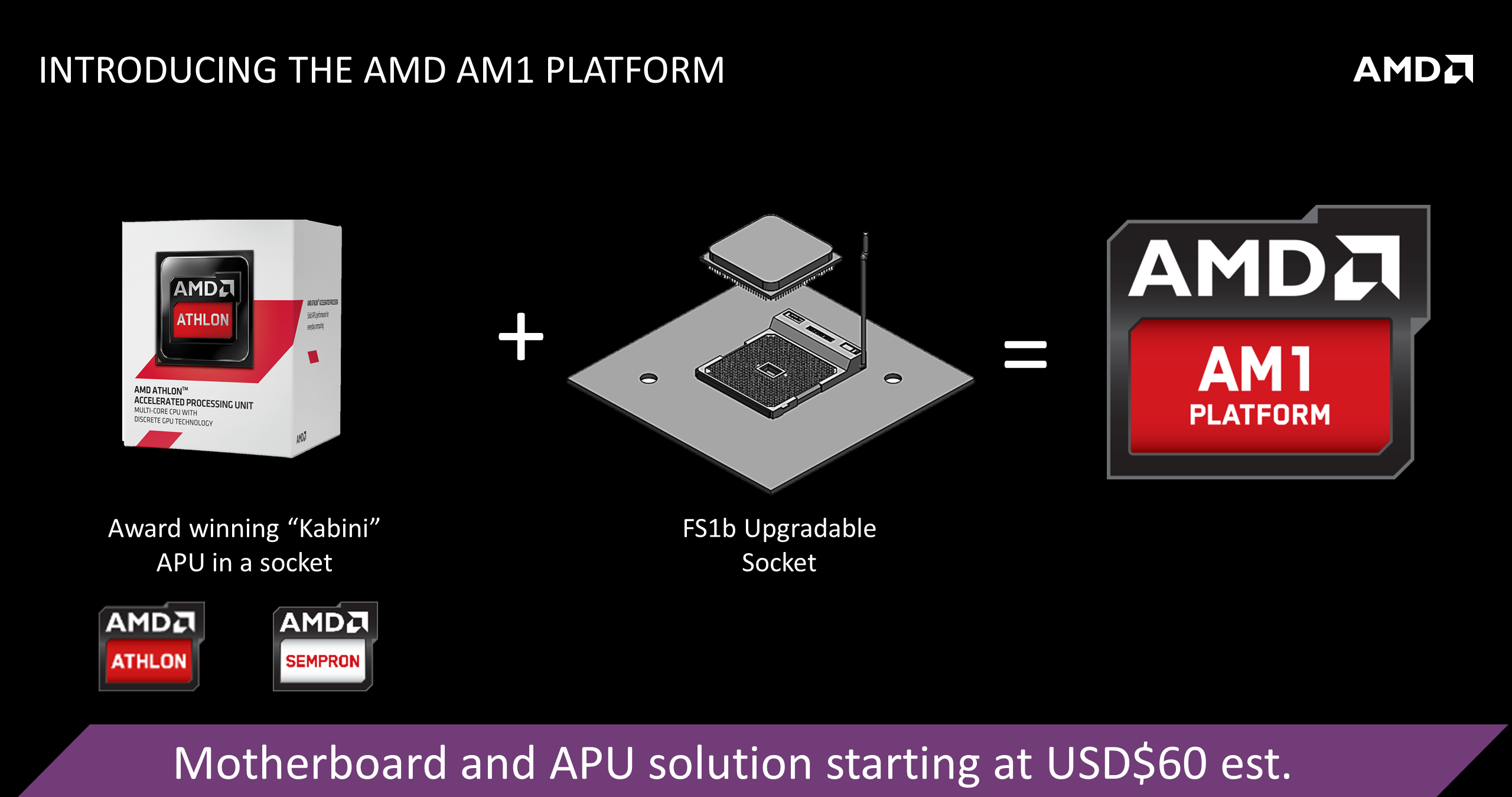 Amd Athlon 5150 And Athlon 5350 Am1 Socketed Kabini Apus Start Selling In Us Official Launch On 9th April