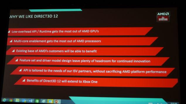 AMD DirectX 12 API GDC 2014
