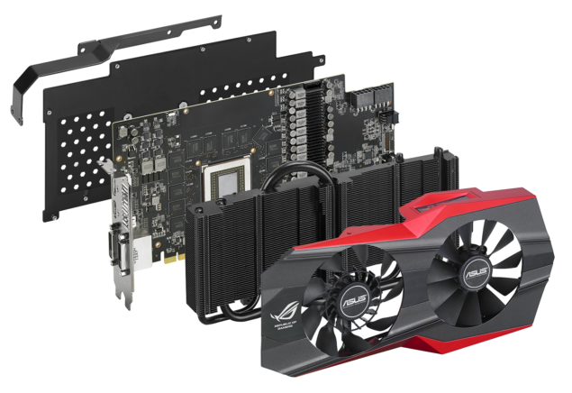 ASUS ROG MATRIX R9 290X Dissected