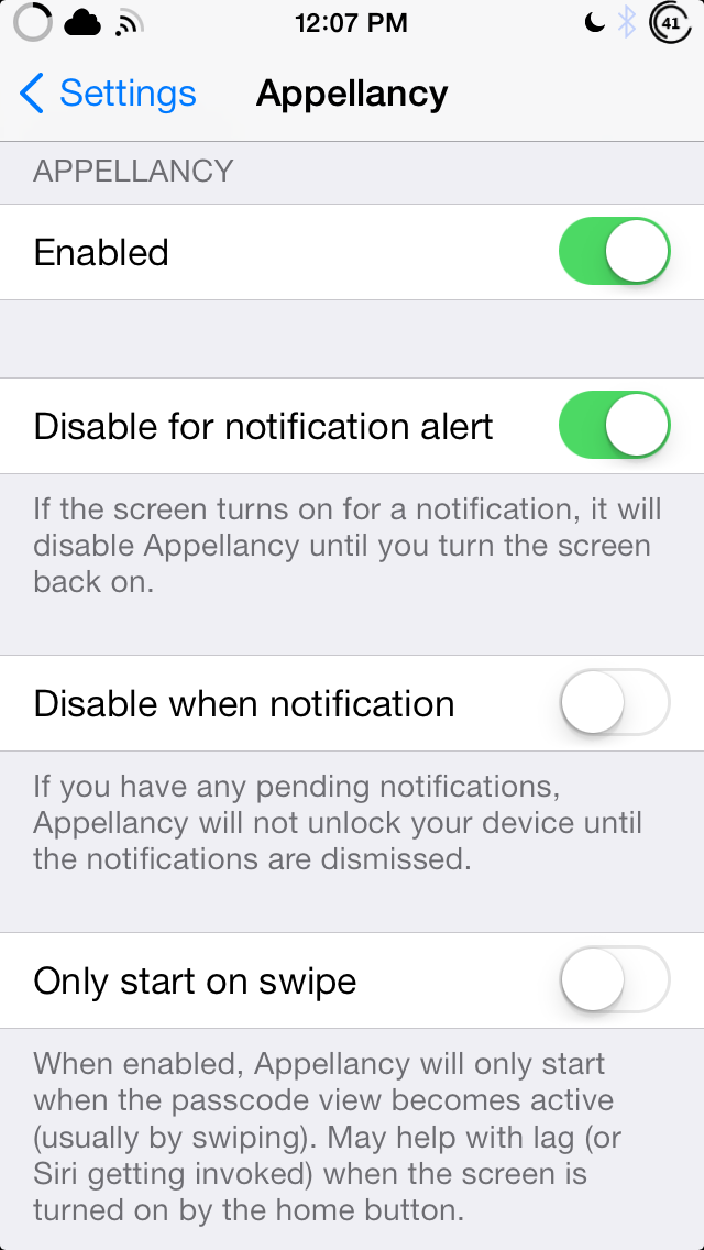 Appellancy iOS 7 unlock iphone with facial recognition ios 7