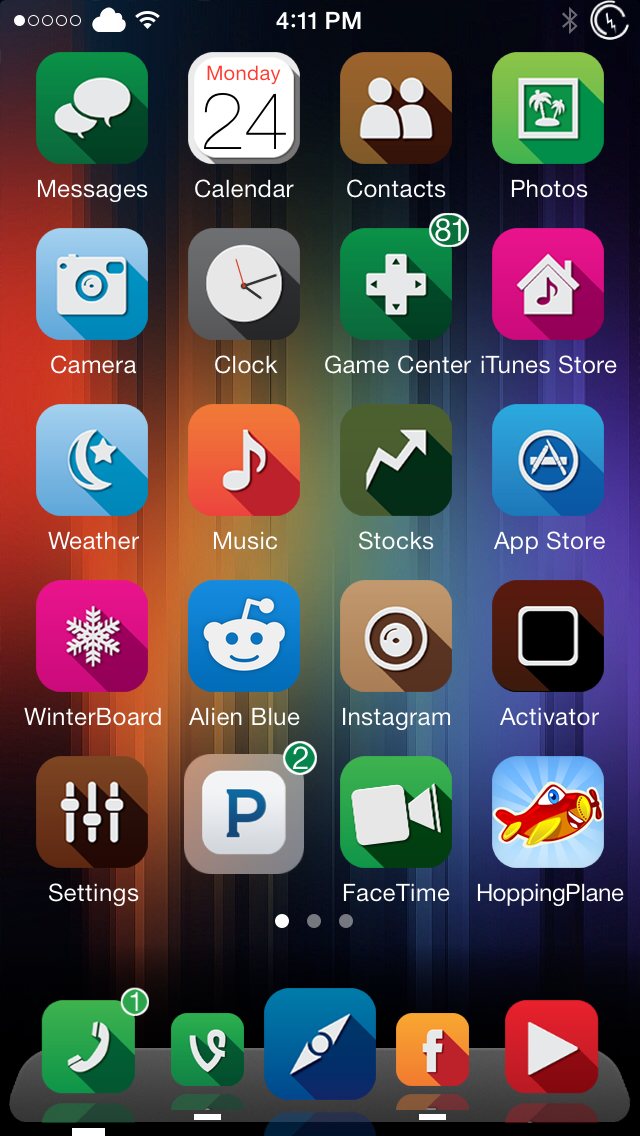 Dockflow Ios 7 Add Brilliant New Animations To Your Iphone Dock