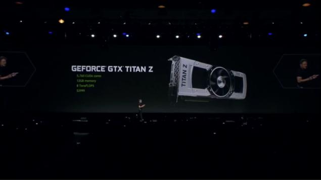 GeForce GTX Titan Z GTC 2014