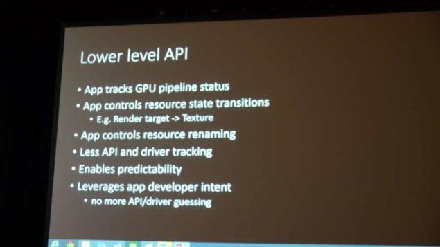 Low Level API