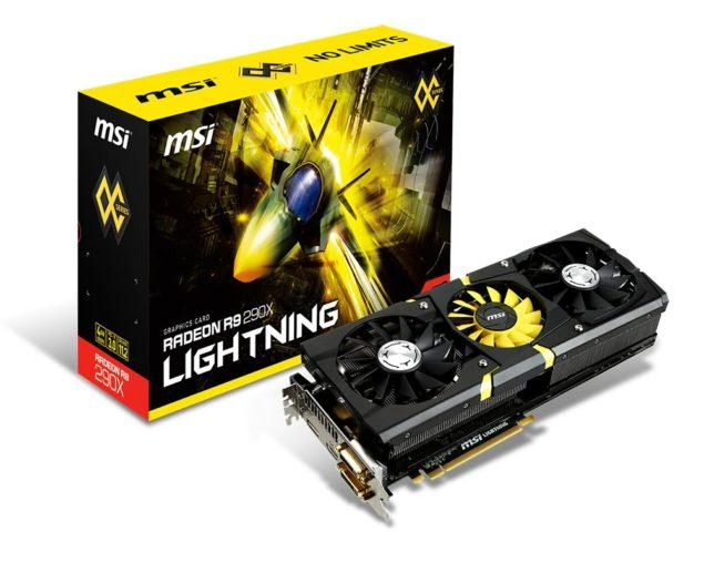 MSI Radeon R9 290X Lightning 4 GB GDDR5