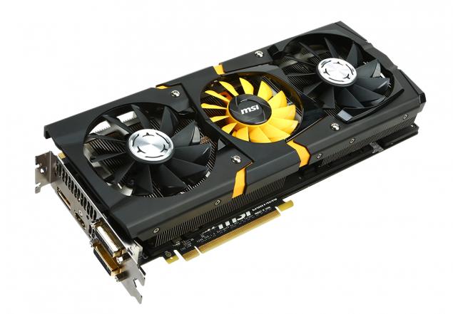 MSI Radeon R9 290X Lightning GPU