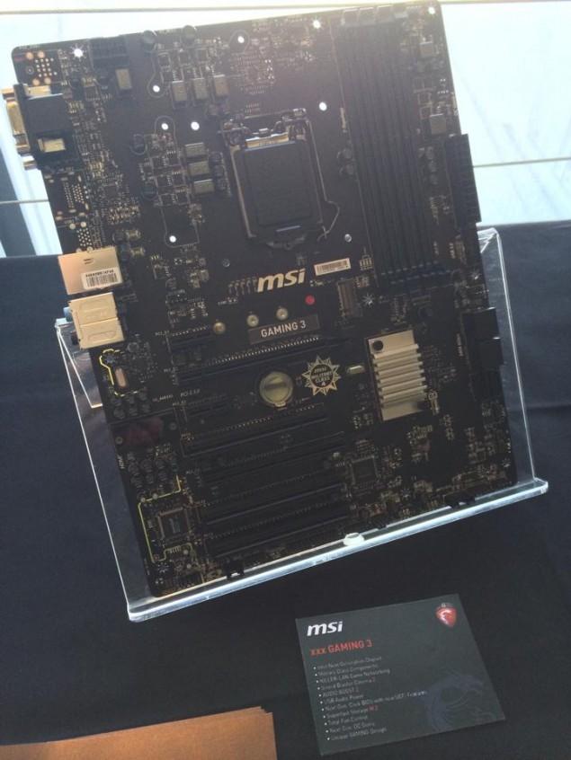 MSI Z97 Motherboard Gaming 3