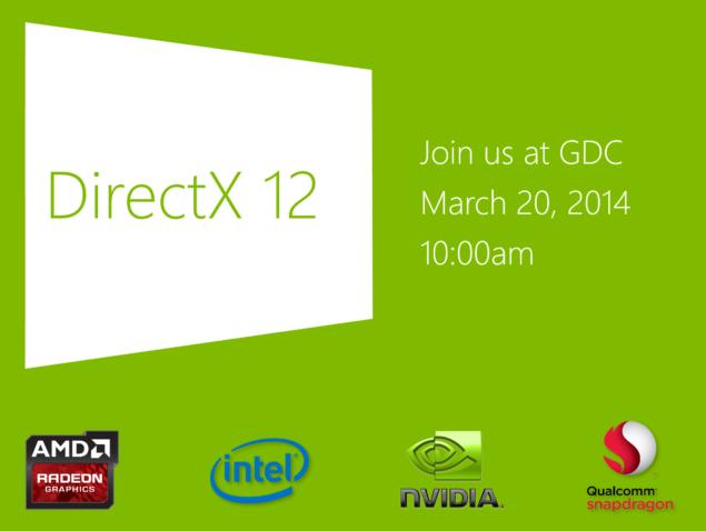 Microsoft DirectX 12 GDC 2014