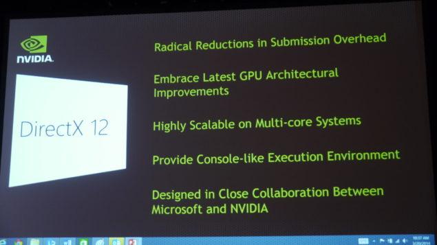NVIDIA DirectX 12 API GDC 2014