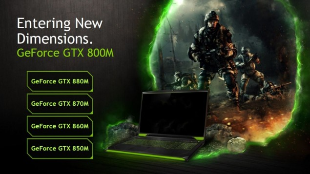 NVIDIA GeForce GTX 800M Series