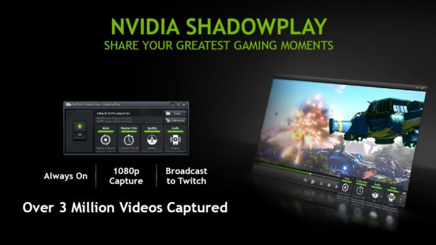 NVIDIA GeForce GTX 800M ShadowPlay