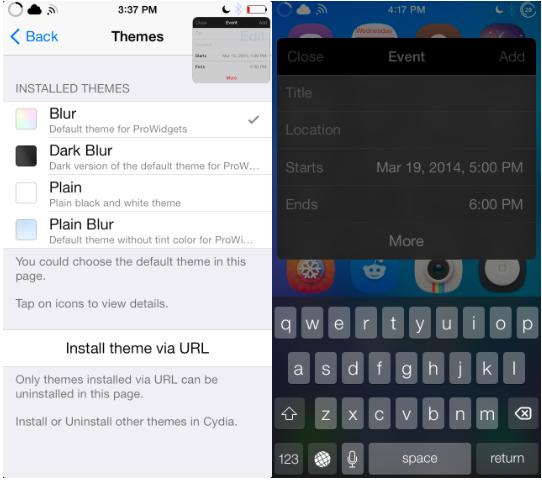 ProWidgets iOS 7