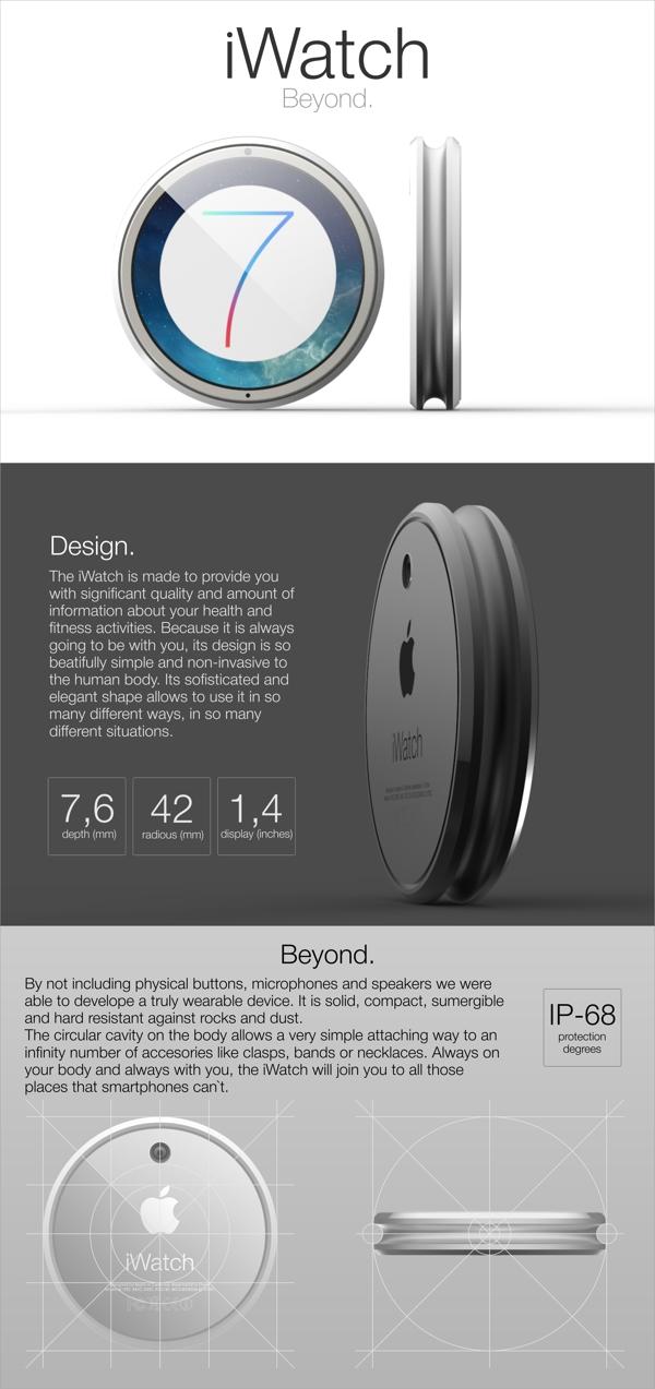 futuristic iwatch concept tomas