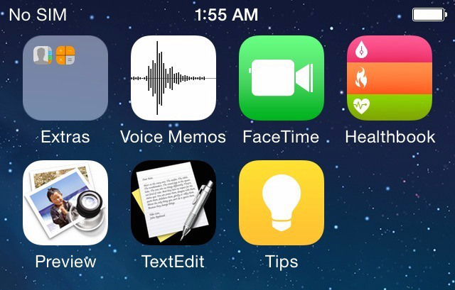 textedit preview iOS 8 leaks